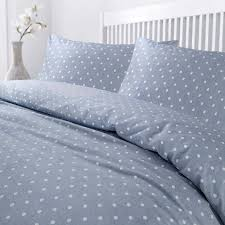 white polka dots quilt duvet cover set