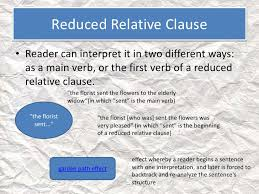 It modifies the noun woman. Reduced Relative Clause