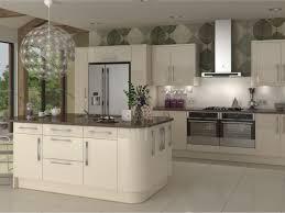 High Gloss White Kitchen White Glossy Cabinets High Gloss Cream Kitchen High Gloss White
