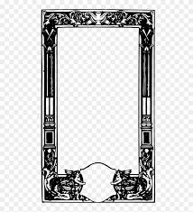 free angel frame ornate border 395803