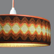 s ufo ceiling light pendant lamp shade with textile band it s regarding decor architecture