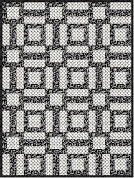 Black And White Quilt Patterns Inspiration Black And White Quilt Pattern Archives FabricMomFabricMom