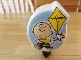 Charlie Brown Night Light Vintage Peanuts Charlie Brown Flying A Kite Night Light