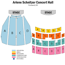 Arlene Schnitzer Concert Hall Seating Chart Arlene Schnitzer Concert Hall Seating Chart Scxhjd Org
