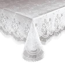 vinyl lace tablecloth 344554