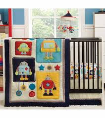 robot crib sheets