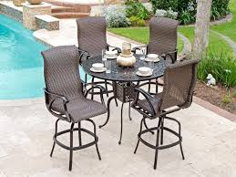 outdoor bar height table and chairs classy design patio furniture best of modern sets s9
