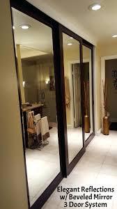 mirrored door mirrored swing door