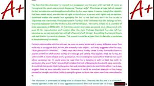 a of mice and men exemplar essay curley s wife  a of mice and men exemplar essay curley s wife