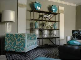 Turquoise And Brown Living Room Cutest Turquoise And Brown Living Room In Interior Design For