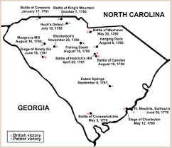 Revolutionary War Battles In Sc My 4th Great Grandfather