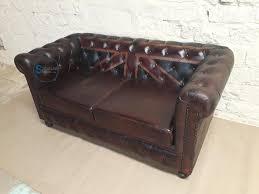 vintage leather chesterfield union jack sofa
