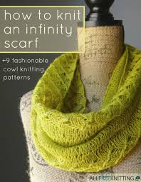 Knitted Infinity Scarf Pattern Unique Design Inspiration