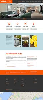 Memorial Website Design Website Template 51779 Funeral Company Services Custom