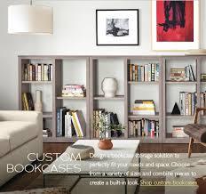 shelving furniture living room. Room \u0026 Board Custom Storage Bookcases Shelving Furniture Living