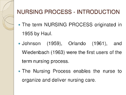 nursing process assessing nursing process