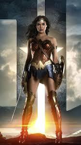 wonder woman justice league iphone wallpaper free