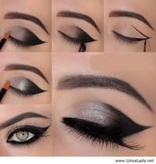 black eye makeup tutorial 13 glamorous smoky makeup for stunning party black and shimmery grey night out makeup tutorial nadyana magazine