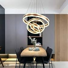 modern led chandelier tiered post modern led ring pendant light 1 light 2 light 3 acrylic modern led ceiling chandelier lights