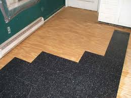 Kitchen Floor Pads How To Install Commercial Grade Resilient Tile 6 Steps