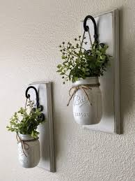 diy home decor set of two mason jar