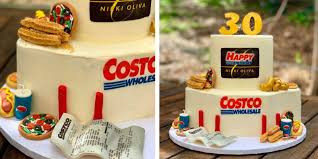 This Costco Birthday Cake Is So Spot On Right Down To The Receipt