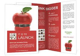 Apple Flyer Templates Black Belt On An Apple Brochure Template Design Id 0000008201