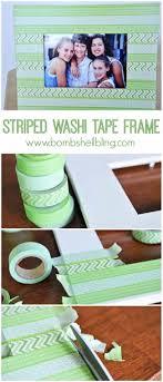 washi tape craft ideas diy picture frame designs at diyjoy