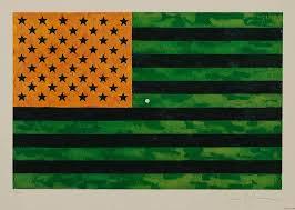 jasper johns flag moratorium 1969 heritage auctions