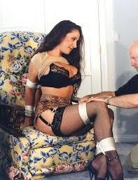 Jewell marceau maid for bondage