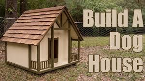 Creative Dog Houses How To Build A Dog House Youtube