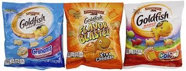 goldfish crackers bag. Wonderful Goldfish Amazoncom Pepperidge Farm Goldfish Crackers Variety Pack 30 Count  294 Oz Inside Crackers Bag
