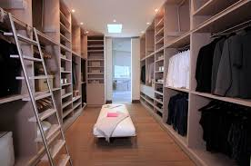 beige wall and closet organizers for modern closet