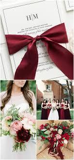 Burgundy Valentines Day Wedding Inspiration Wedding Invitations