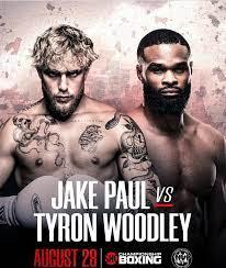Jake Paul vs Tyron Woodley date: Live ...