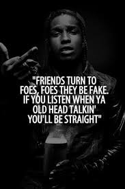 Quotes From Rap Songs Simple 48 Strong Asap Rocky Quotes And Sayings