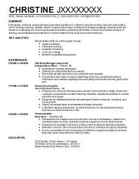 Child Care Provider Resume Examples