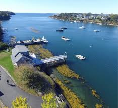 Bailey Island Maine Oceanfront Mackerel Cove Home With Dock