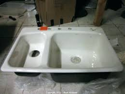 reglaze porcelain sink kitchen sink lovely drainboard white porcelain sinks cost full size large size resurface