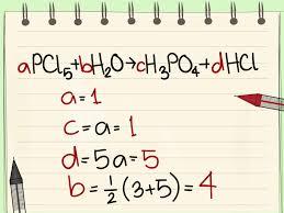 balancing chemical equations calculator