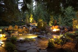 garden lighting ideas. pairing your garden lights with other lighting features can tie together theme here ideas d