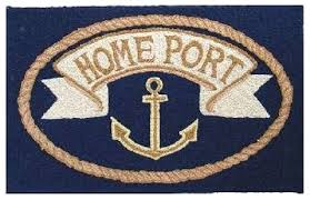 anchor bath rug home port nautical rug navy anchor bath rug anchor bath rug