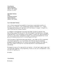 samples of cover letter for management consultant resumecover letter for management consultant resume