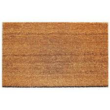Decorating coir door mats pics : Beige 18 in. x 30 in. Coir and Vinyl Door Mat-20815-1 - The Home Depot