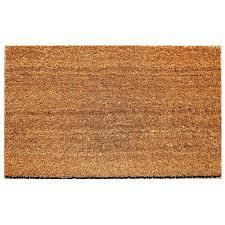 coir and vinyl door mat