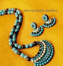 Funky Necklace Designs Pin By Mrudula Vellapalem On Terracota Jewellery Ideas