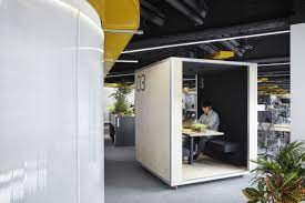 Why The Pod Is The Cubicle Of The 21st Century Bloomberg