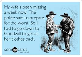 My Wife's Been Missing A Week Sextile Enchanting Missing My Wife