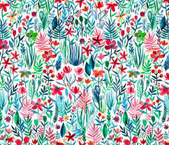 fabric garden. Rtropical_ink_on_white_base_spoonflower_shop_preview Fabric Garden
