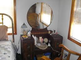 amusing antique dressing table with round mirror 5 bedroom vanity models